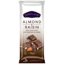 Dairyland Almond & Raisin Chocolate - Bulkbox Wholesale