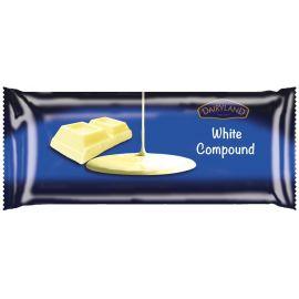 Dairyland White Compound Chocolate Retail Pack - Bulkbox Wholesale